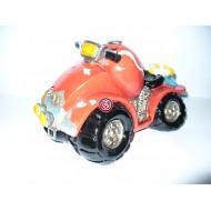 Hucha Motocicleta Roja