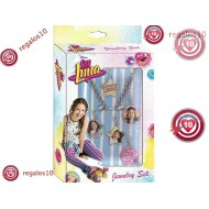SET COLGANTES INTERCAMBIABLES SOY LUNA DISNEY COLLAR