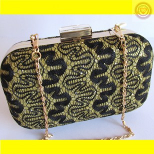 CLUTCH BOLSO DE FIESTA COLOR NEGRO