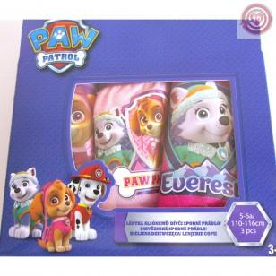 Pack 3 braguitas niña PATRULLA CANINA  5-6 años