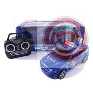 COCHE POLICIA CON RADIO CONTROL