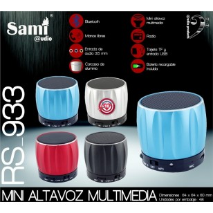 Mini Altavoz Multimedia Bluetooth