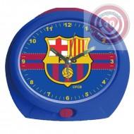RELOJ DESPERTADOR OVALADO FC BARCELONA