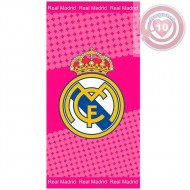 TOALLA BAÑO REAL MADRID COLOR ROSA