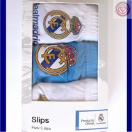 Pack 3 slips REAL MADRID