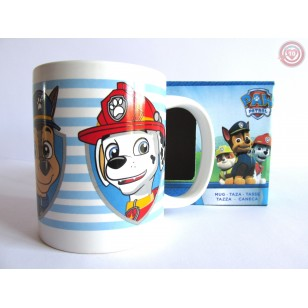 taza de ceramica patrulla canina para ni os paw patrol. Black Bedroom Furniture Sets. Home Design Ideas