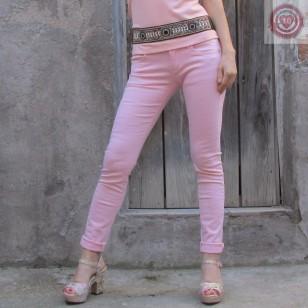 Pantalón en color rosa