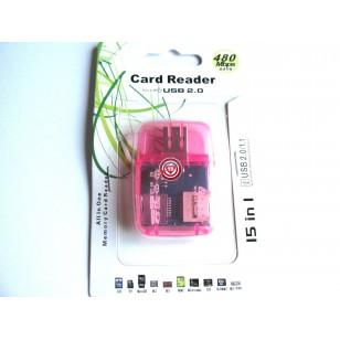 Lector Múltiple de tarjetas 5 en 1