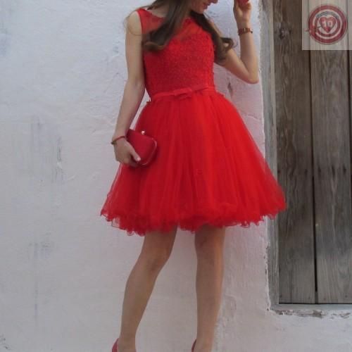 Vestido Elegant Class Color Rojo