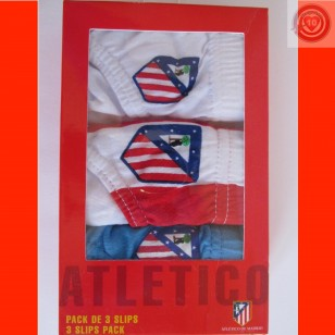 Pack 3 slips Atletico de Madrid