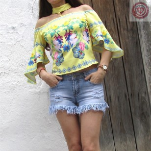 BLUSA TOP BOMBAY