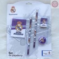 Set de Papelería  - Real Madrid -