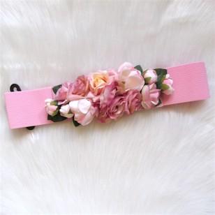 Cinturón flores ROSA Regalos10