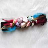 Cinturón flores DORADO Regalos10