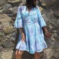 Vestido tie dye Jasmine colores azules regalos10