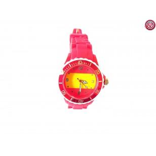 Reloj España- Rojo -