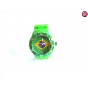 Reloj Bandera Brasil