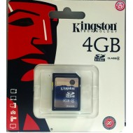 KINGSTON – TARJETA MEMORIA SD 4 GB CLASE4