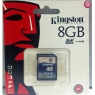 KINGSTON – TARJETA MEMORIA SD 8GB CLASE4