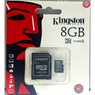 KINGSTON – TARJETA MEMORIA MICROSD 8GB CLASE4