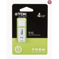 TDK – USB 2.0 4GB BLANCO.