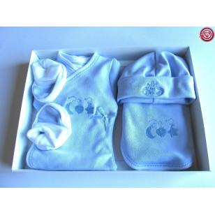Conjunto Bebé - Color Azul -