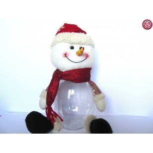 Caramelera Navidad Pingüino