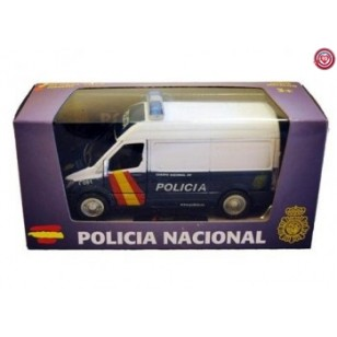 Furgón Policía Nacional