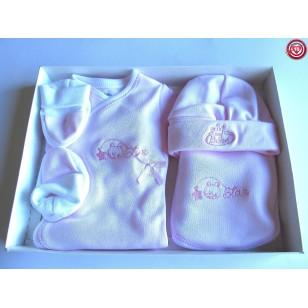 Conjunto Bebé - Color Rosa-