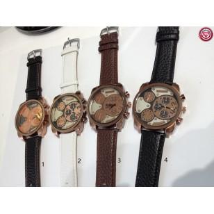 Reloj Caballero GIOVANNI- Pulsera Piel