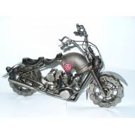 Moto metal Custom dos asientos.