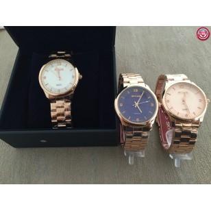 Reloj Chica SKYLINE - Oro Rosa