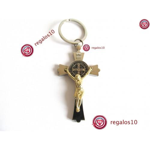 Llavero Metalico Jesucristo En La Cruz Regalos10com