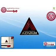 PEGATINA COCHE ADVAN CAR STICKER AUTOMOVIL